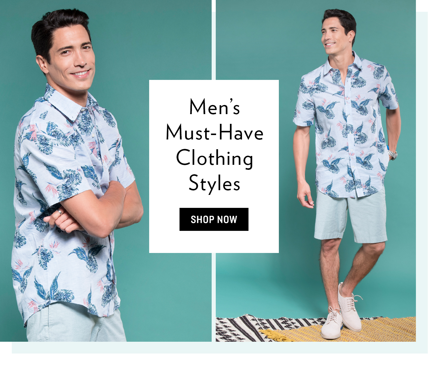 Shop Men's Must-Have Clothing Styles