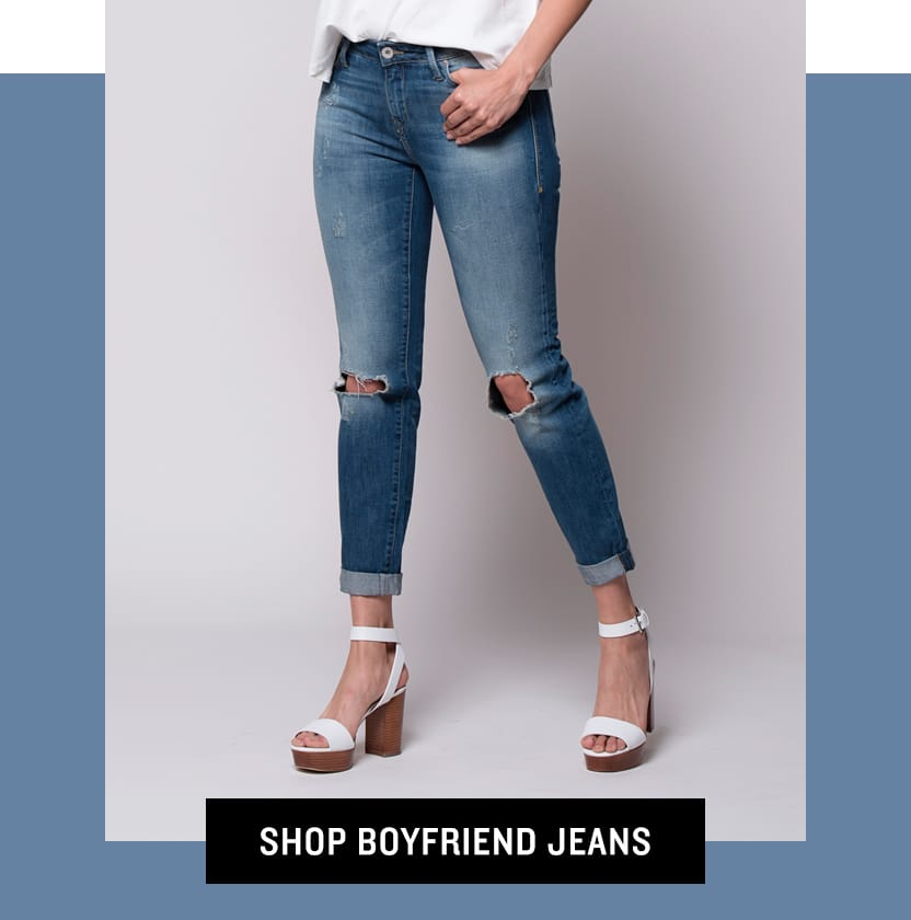 Shop Boyfriend Jeans