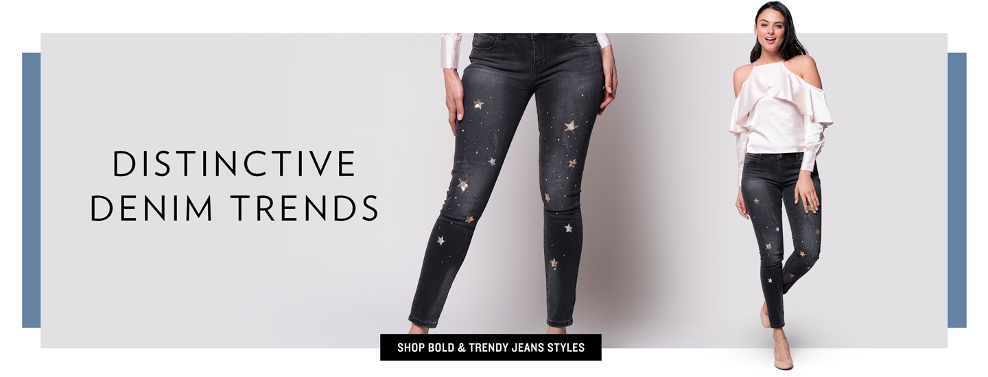 Shop Distinctive Denim Trends