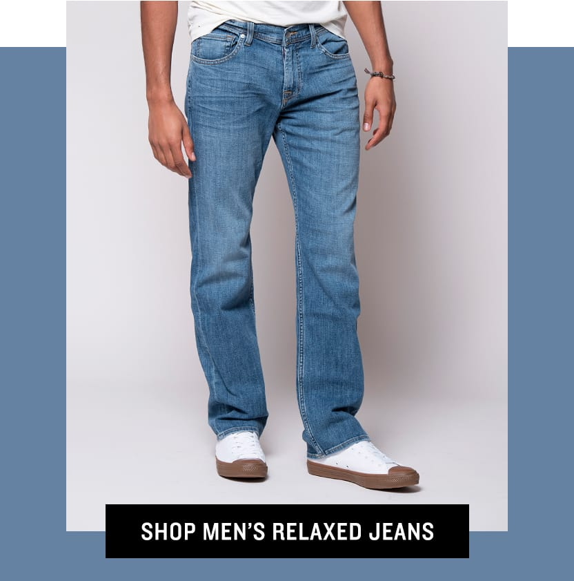 Shop Men's Relaxed Jeans