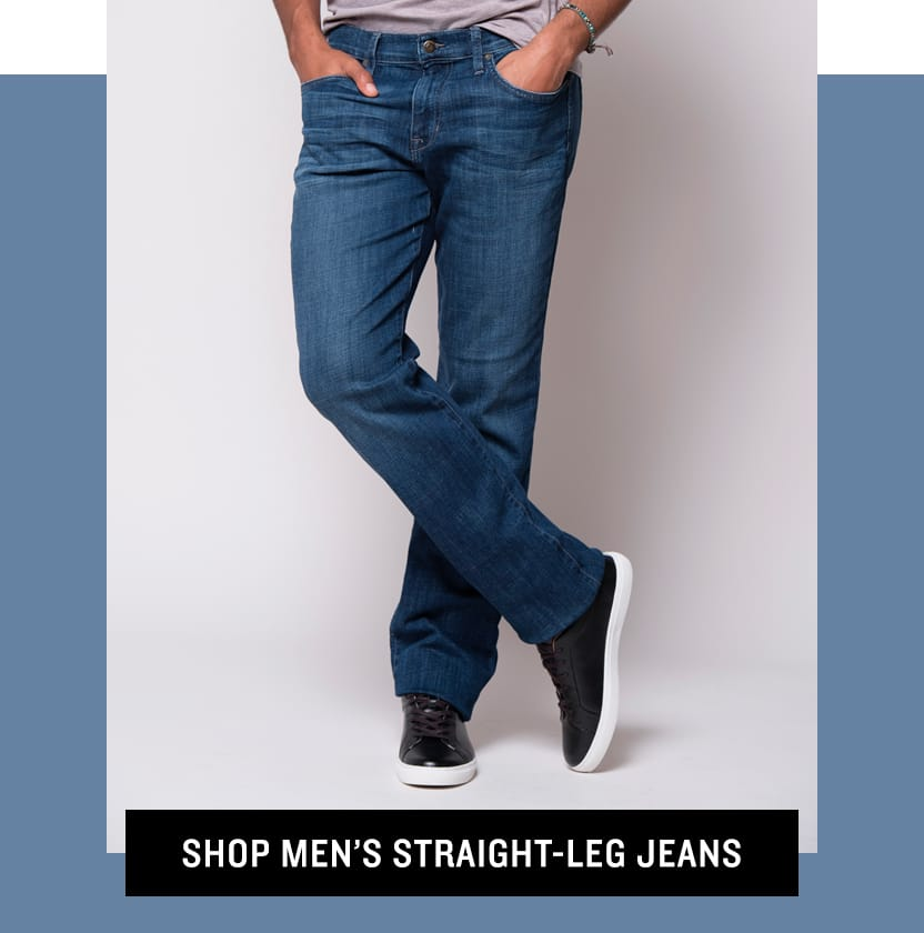 Shop Men's Straight-Leg Jeans