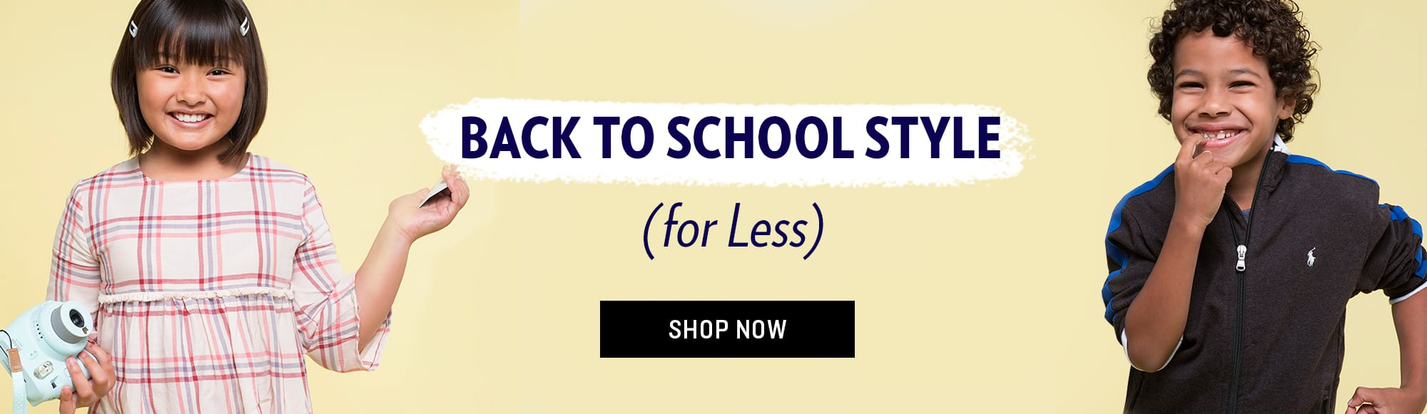 Shop Kids back to school
