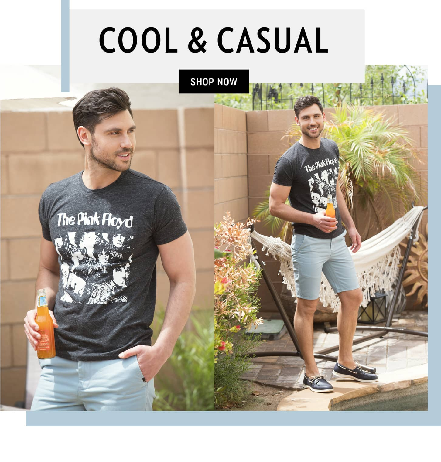 Shop Cool & Casual Men's Styles