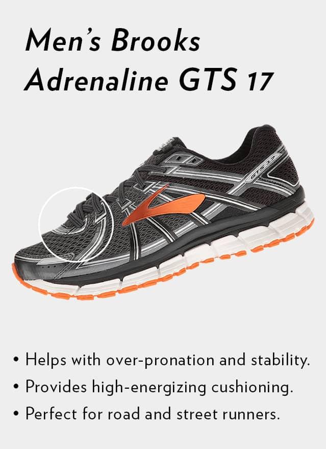 Shop Men's Brooks Adrenaline GTS 17