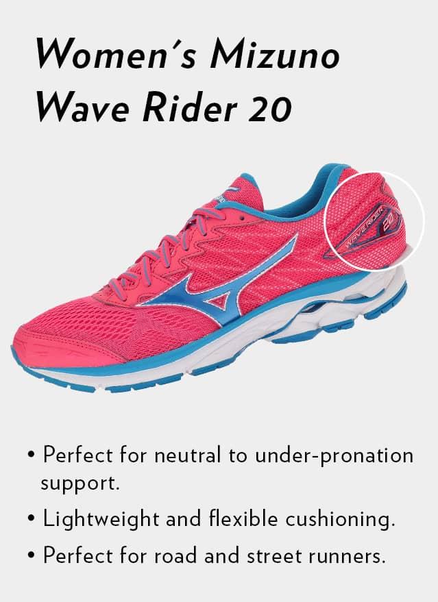 Shop Women's Mizuno Wave Rider 20