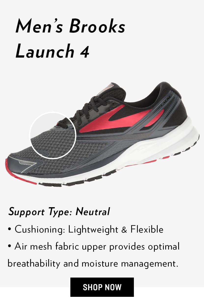 Men's Brooks Launch 4