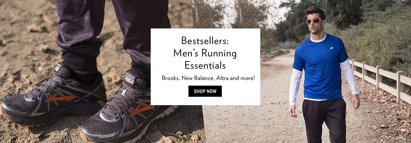 Shop Men's Running Essentials