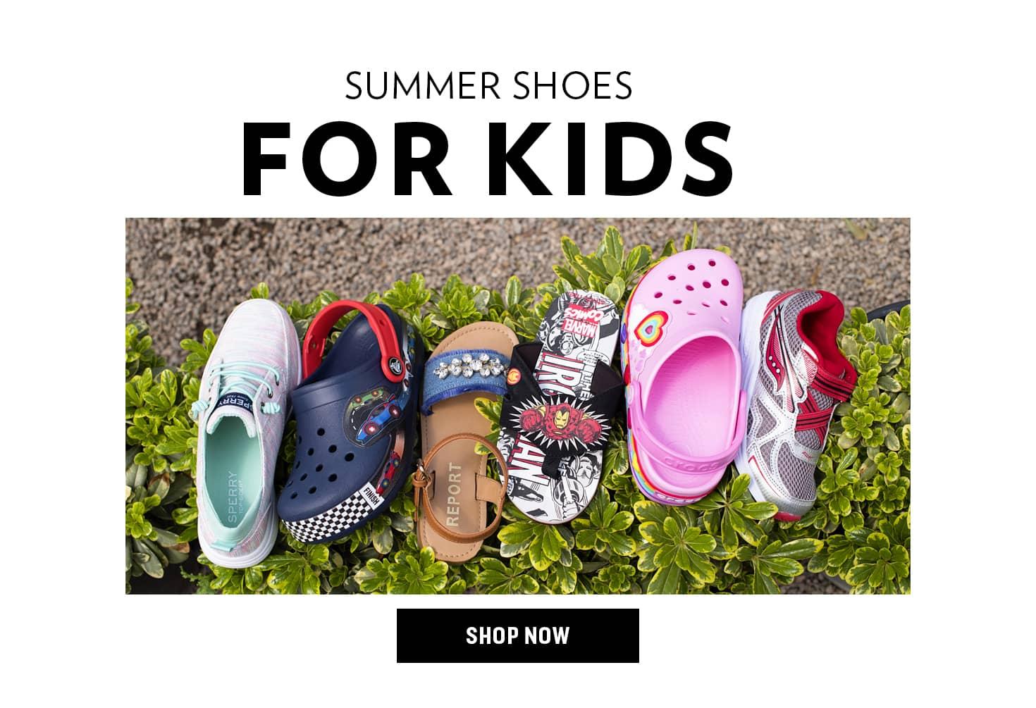 Shop Kids' Summer Shoes