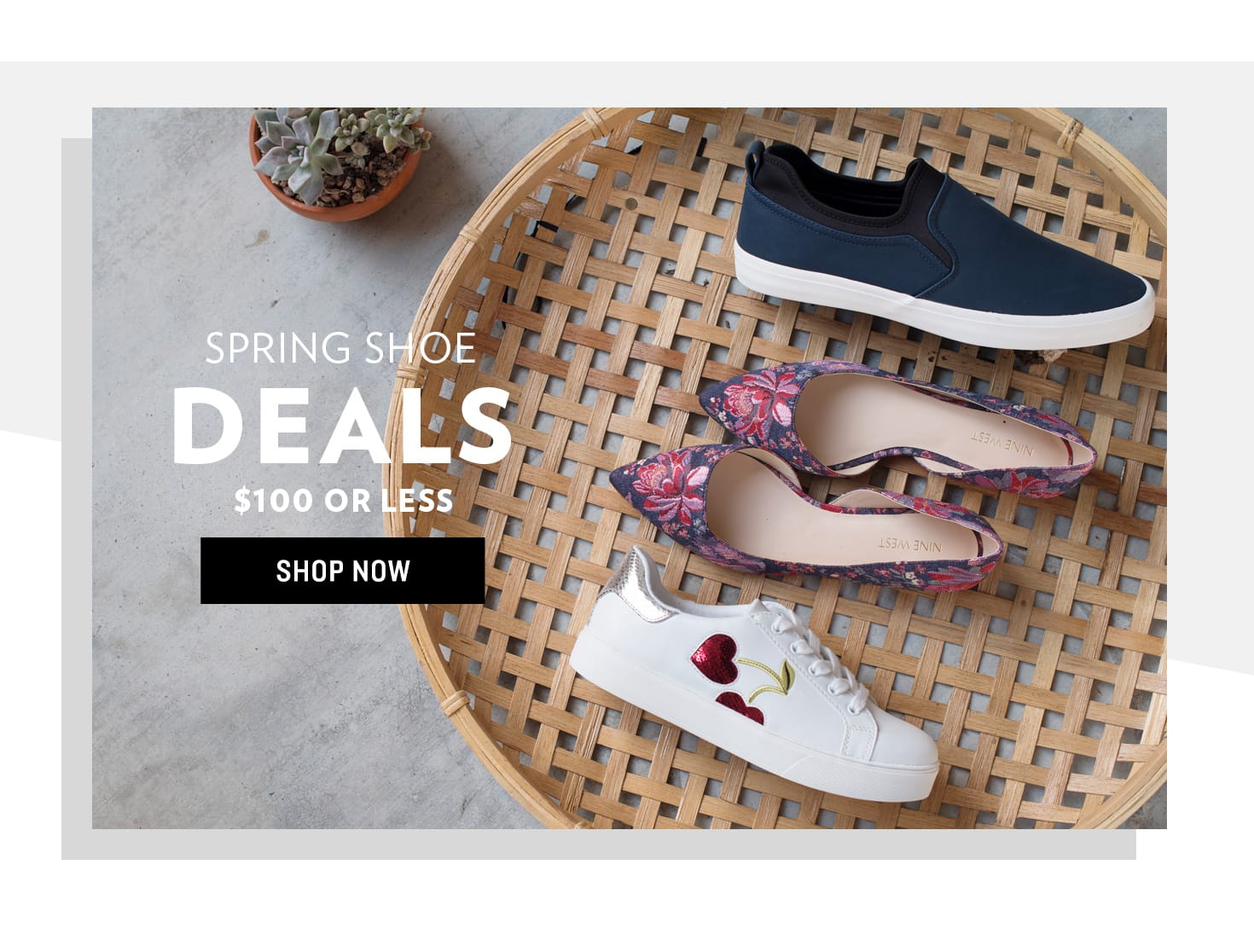 Shop Spring Shoe Deals