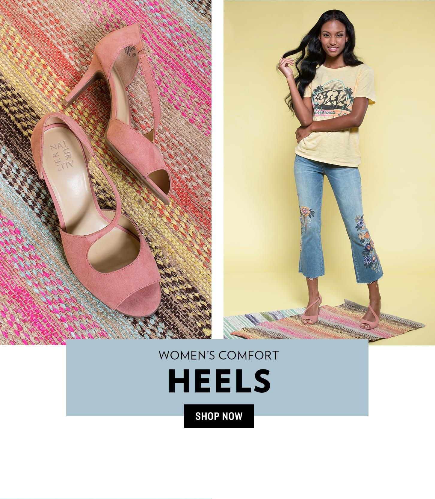 Shop Women's Comfort Heels