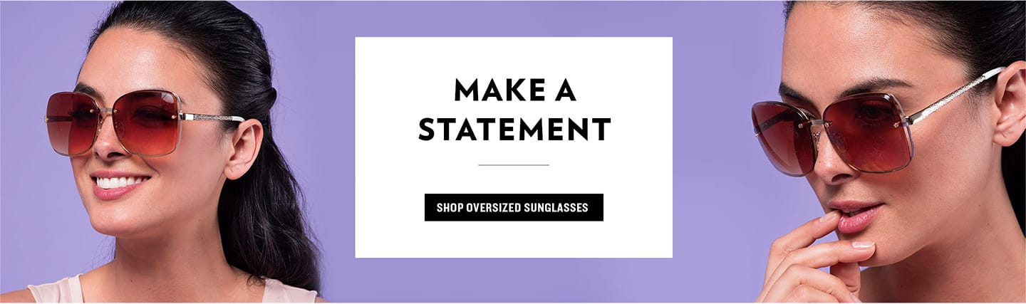 Shop Oversized Sunglasses
