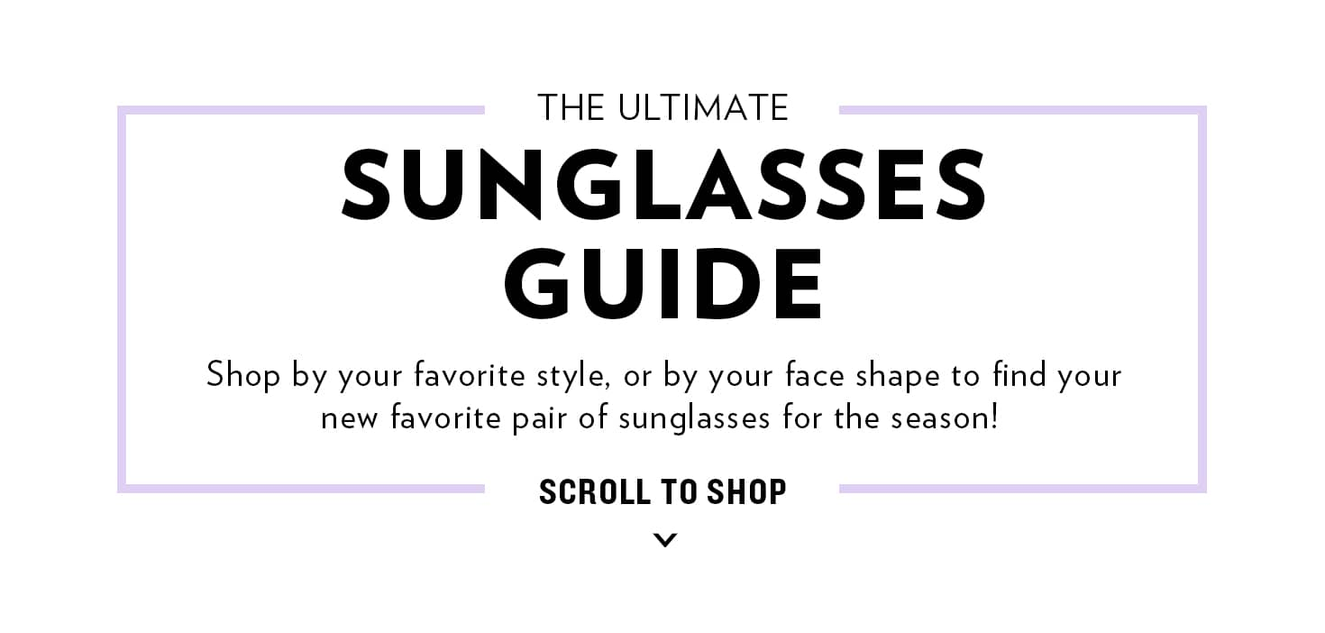 Shop On-Trend Sunglasses