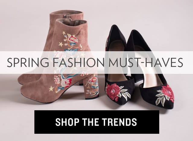 Spring Fashion Must-Haves