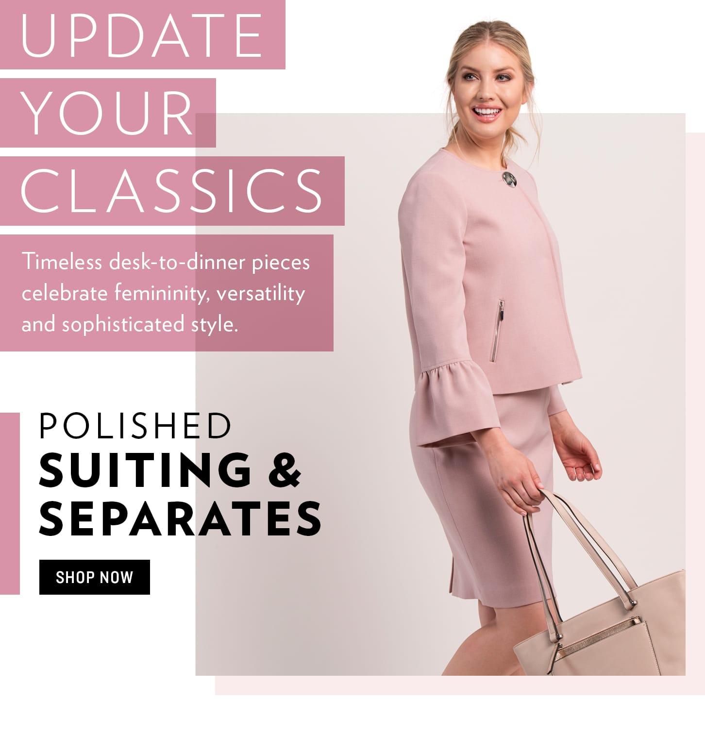 Shop Suiting & Separates