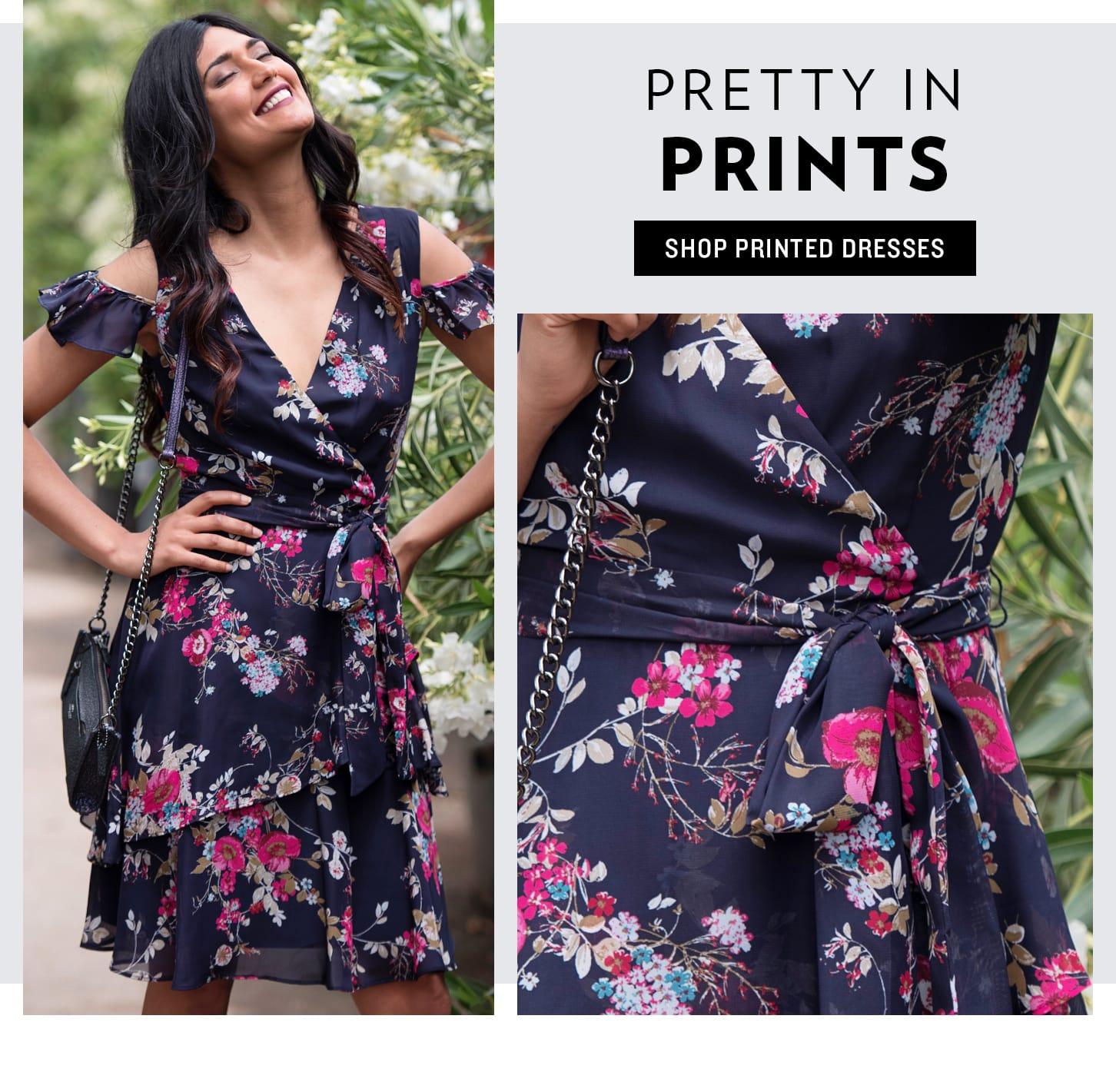 Shop Printed Dresses
