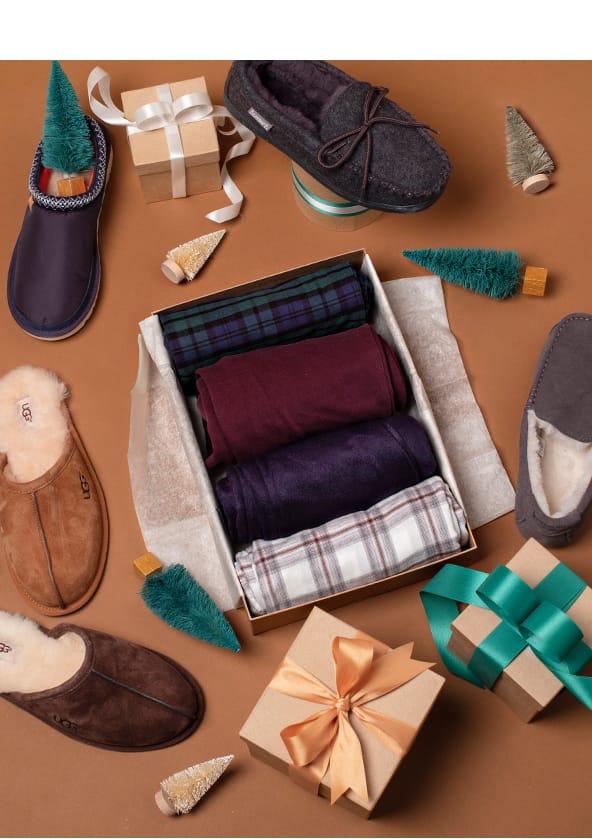 Men's Slippers & Sleepwear