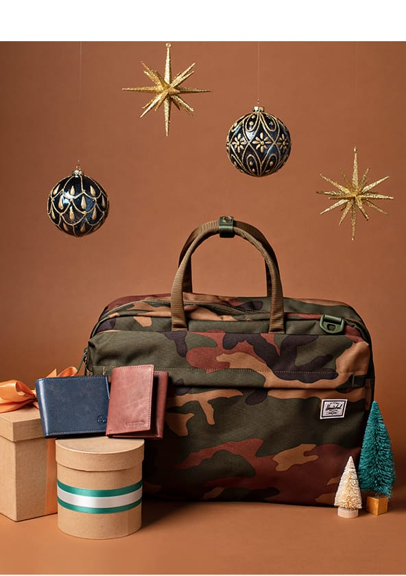 Men's Bags, Backpacks and Wallets