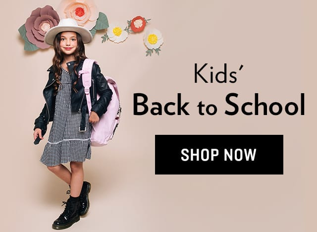 Shop Kids' Back to School