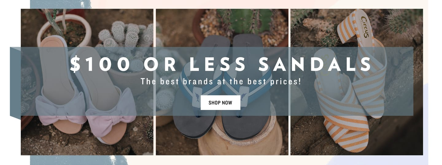 $100 or Less Sandals