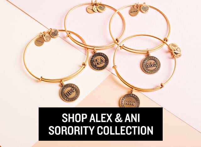 Alex and Ani Sorority Collection
