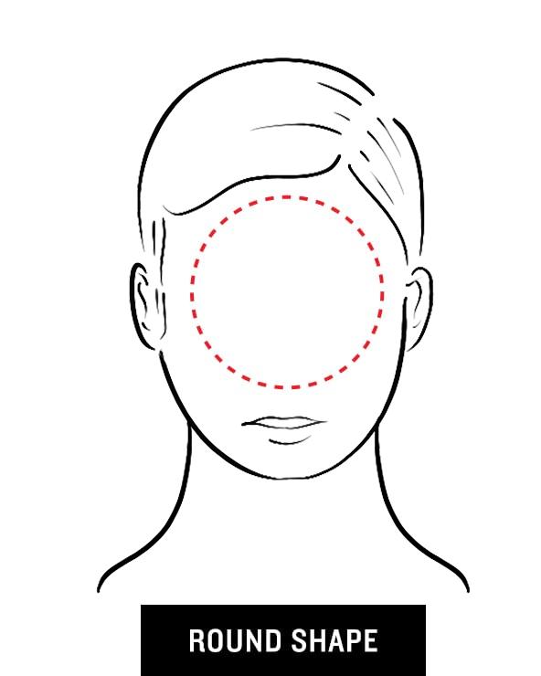 Men's Sunglasses for Round Face Shape
