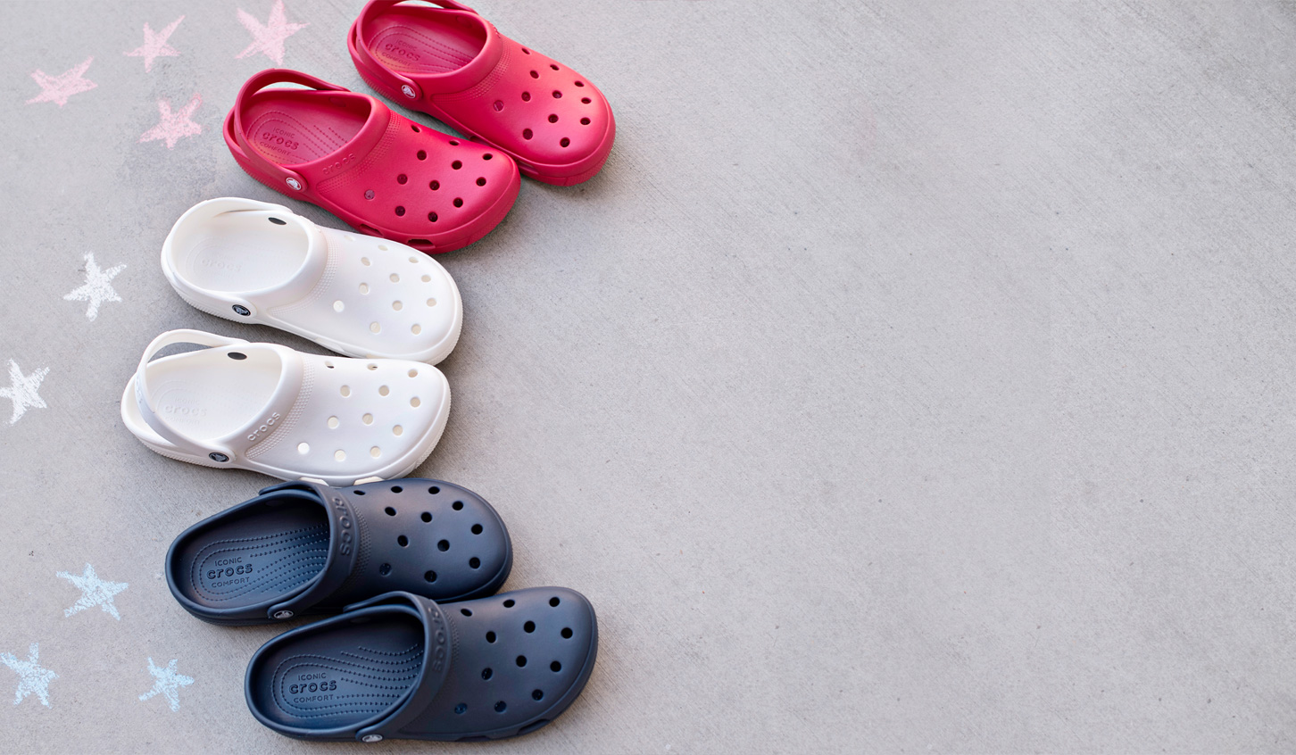 Assorted Colored Crocs Shop Now