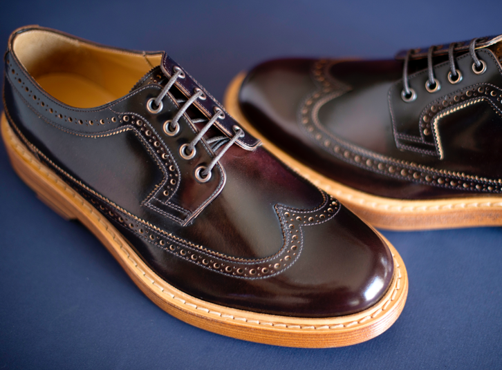 Men's Brown Oxford Shoes