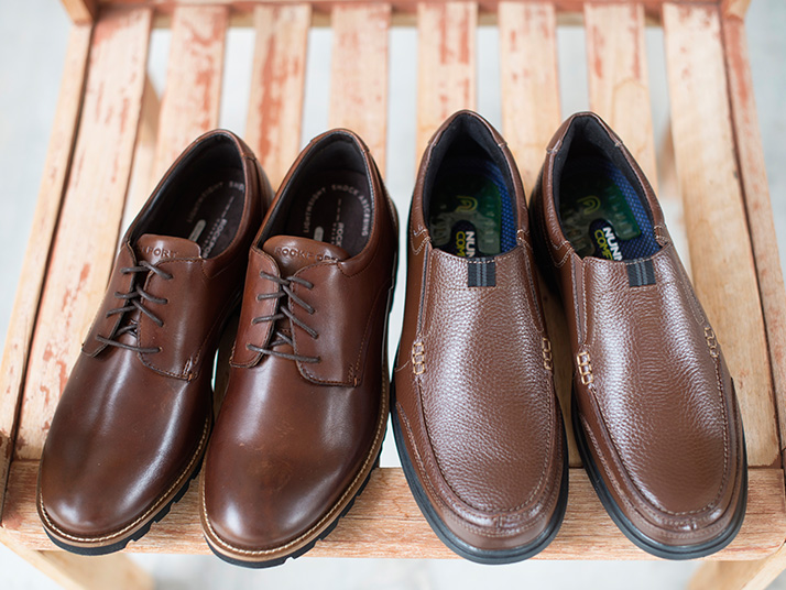 Men's Brown Oxfords And Loafers