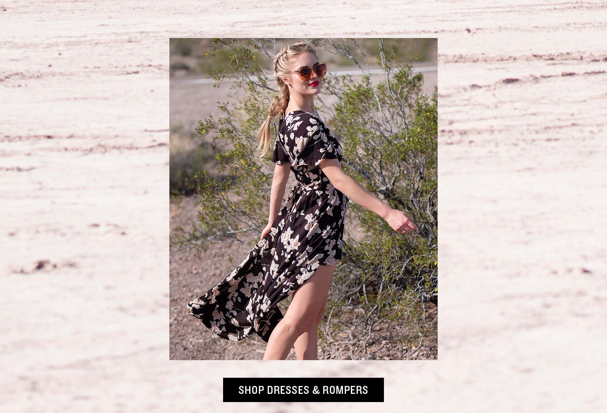Shop Dresses & Rompers