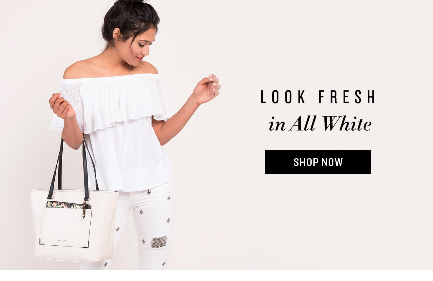 Shop White Bags