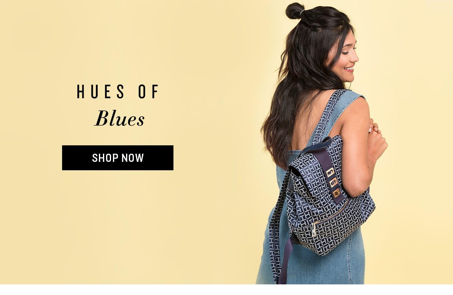 Shop Blue Bags