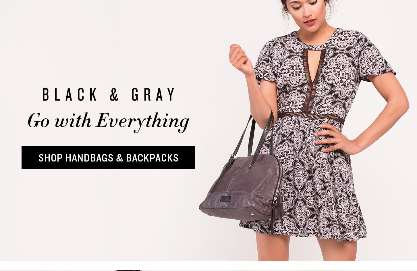 Shop Black Handbags & Backpacks