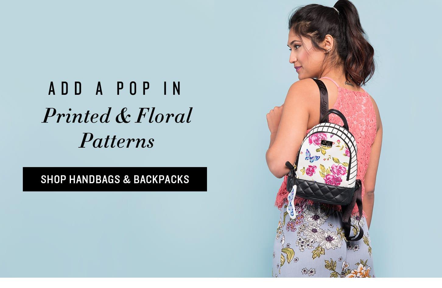 Shop Printed & Floral Bags