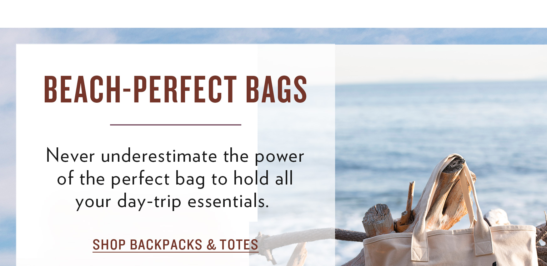 Shop Backpacks & Totes