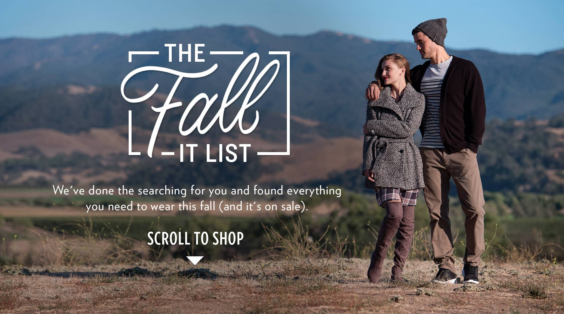 THE FALL IT LIST