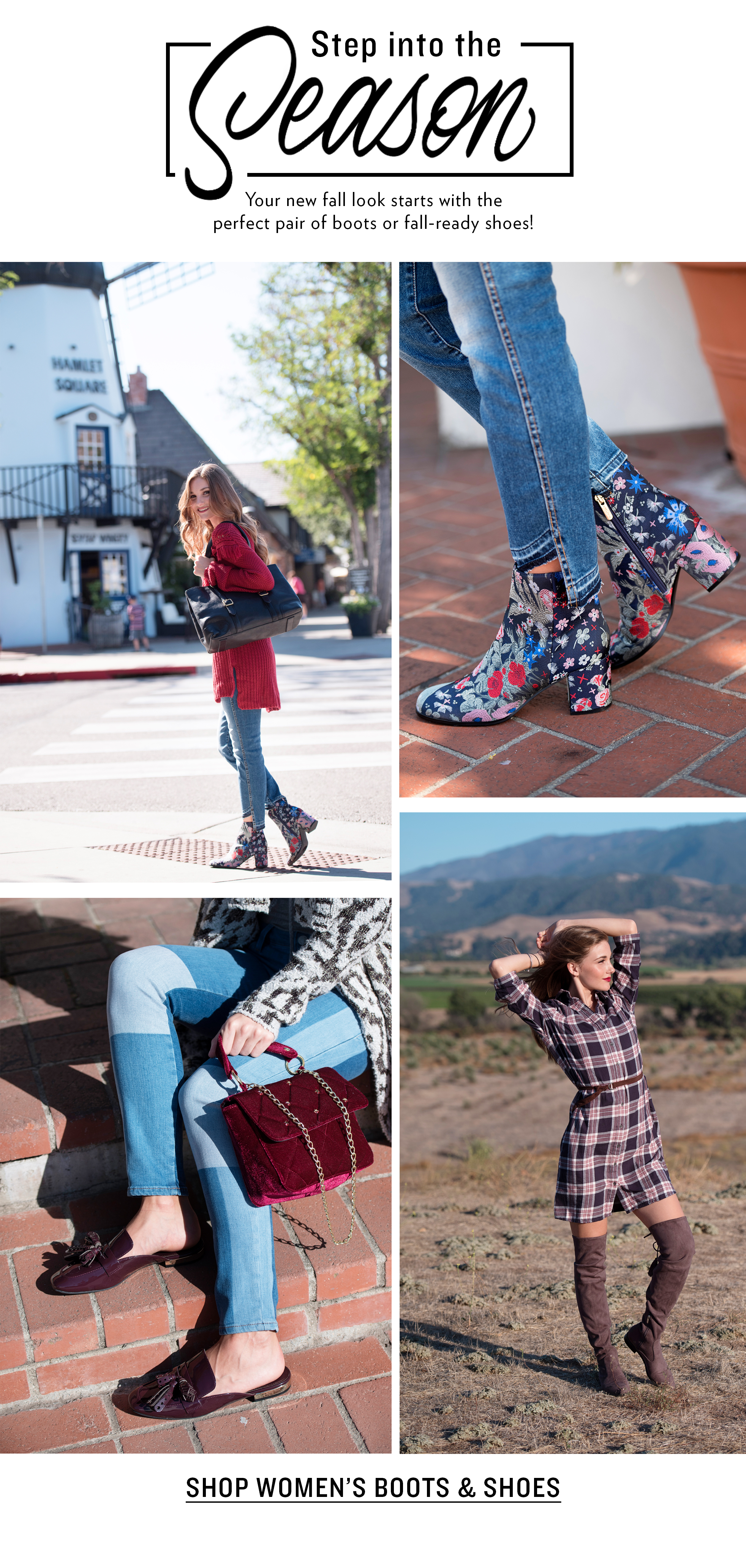 Shop Women's Fall Shoes And Boots