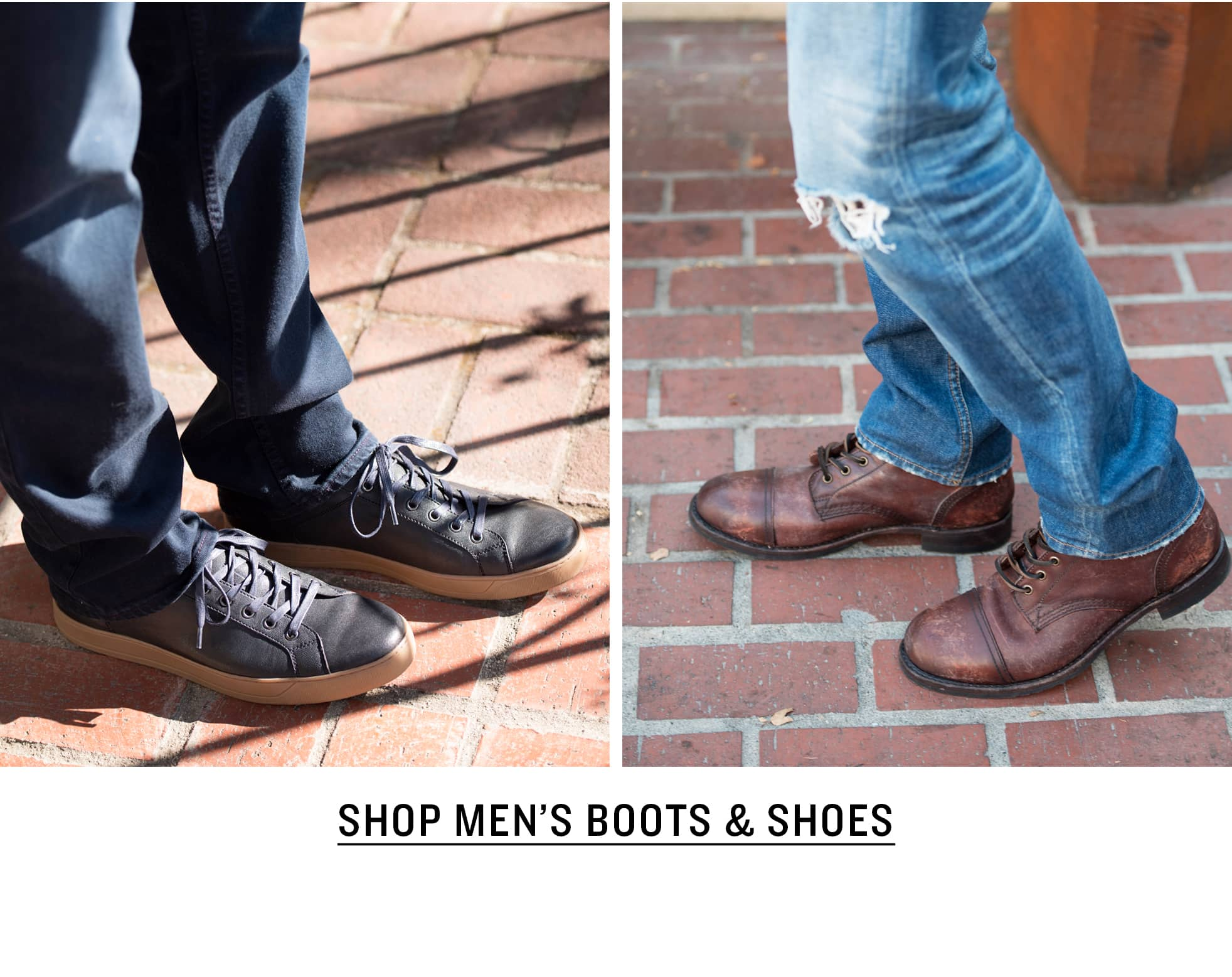 Shop Men's Boots & Shoes