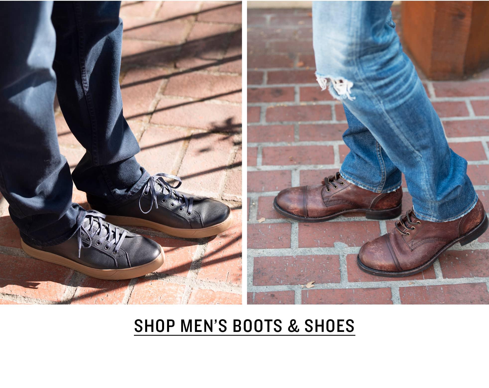 Shop Men's Boots & Shoes