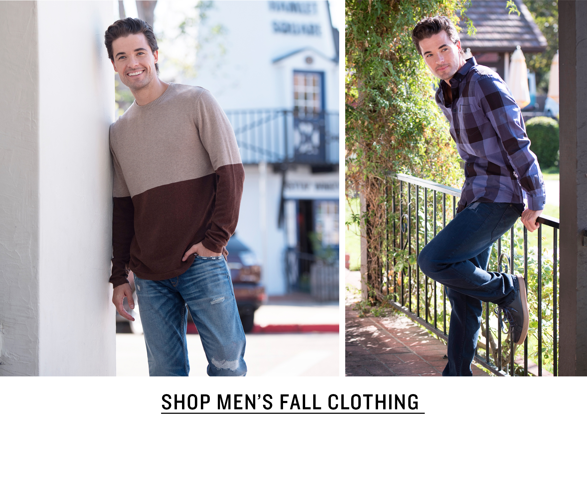 Men's Fall Clothing