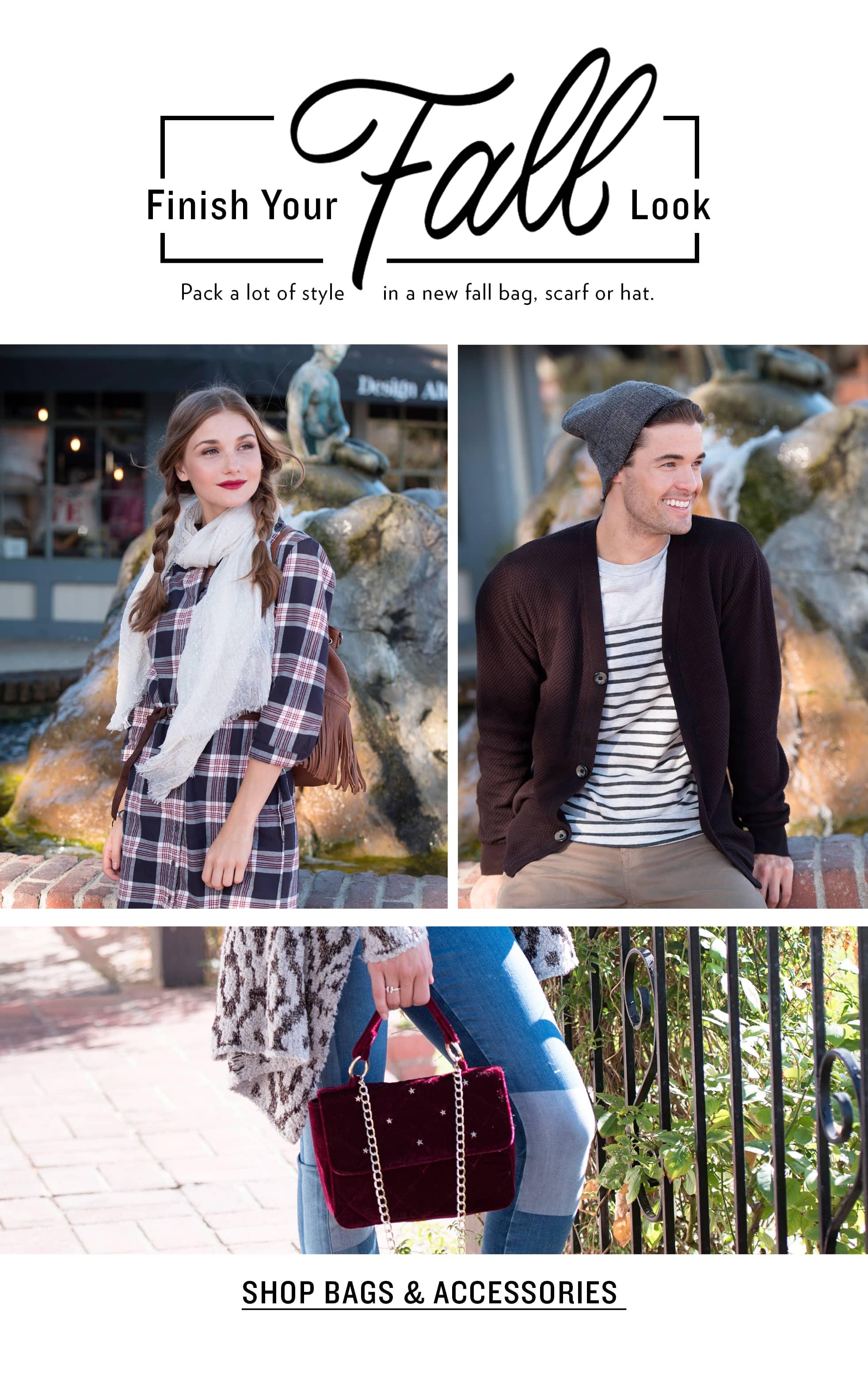Men's & Women's Fall Accessories