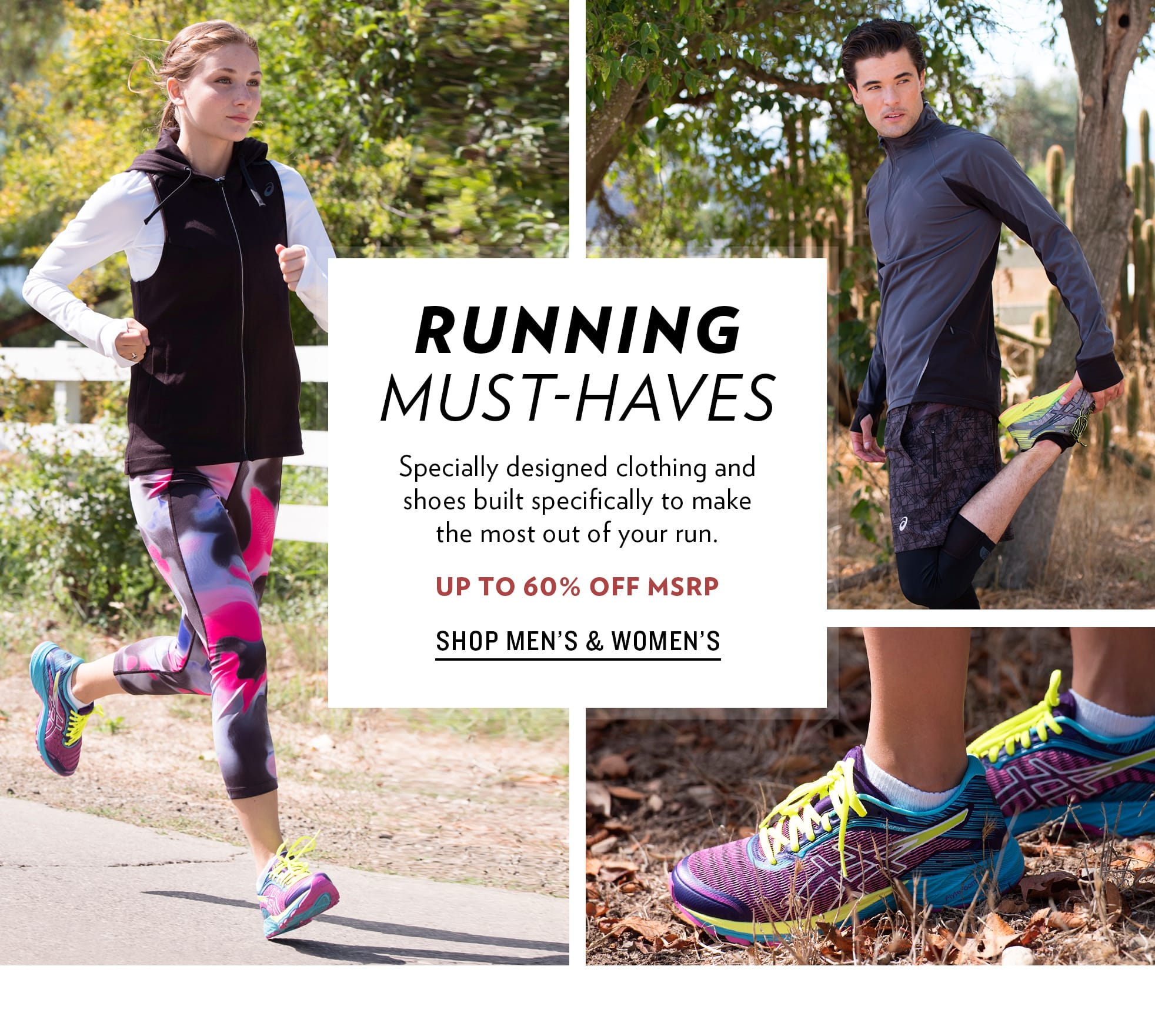 Running Must-Haves