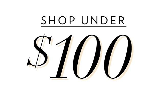 Shop Womens Under $100