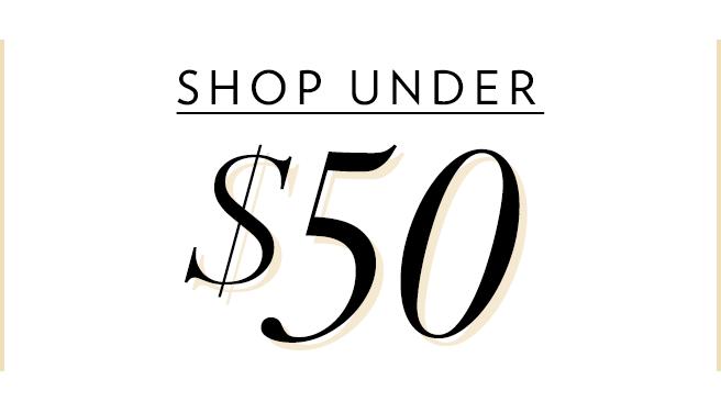 Shop Womens Under $50