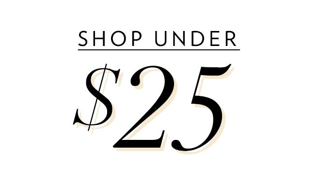 Shop Womens Under $25