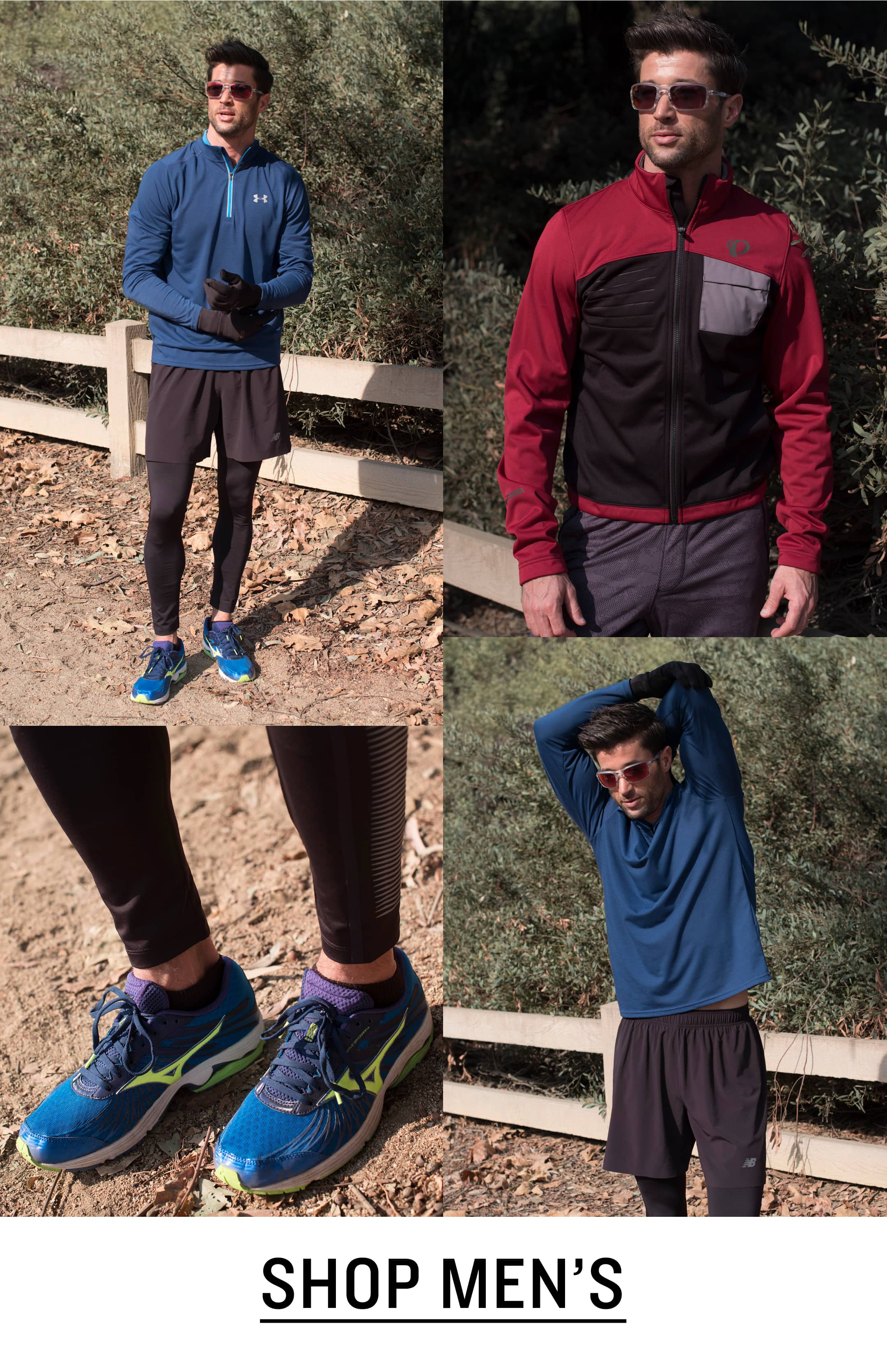 Men's Running Clothing and Shoes