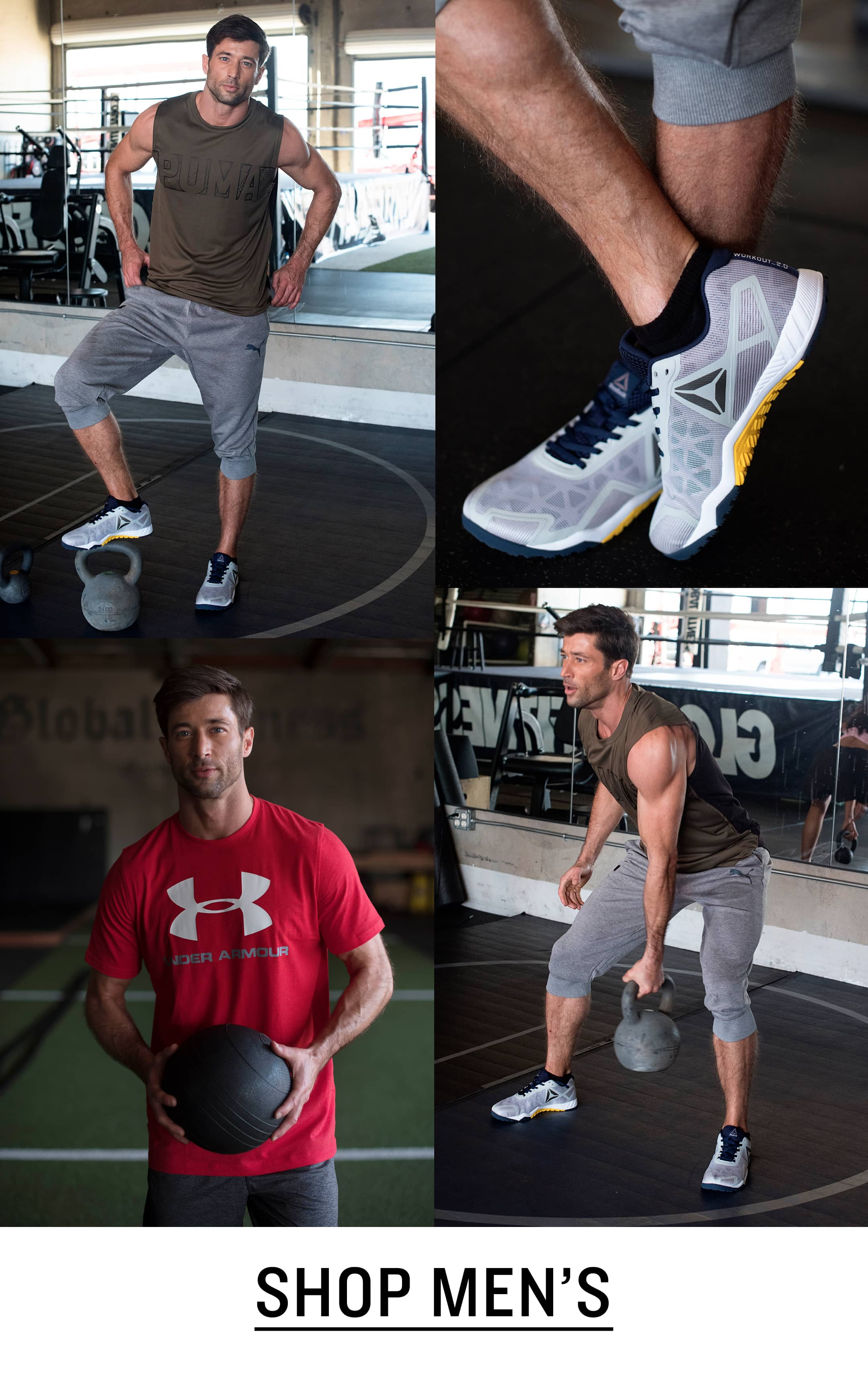 Men's Cross-Training Shoes and Clothing