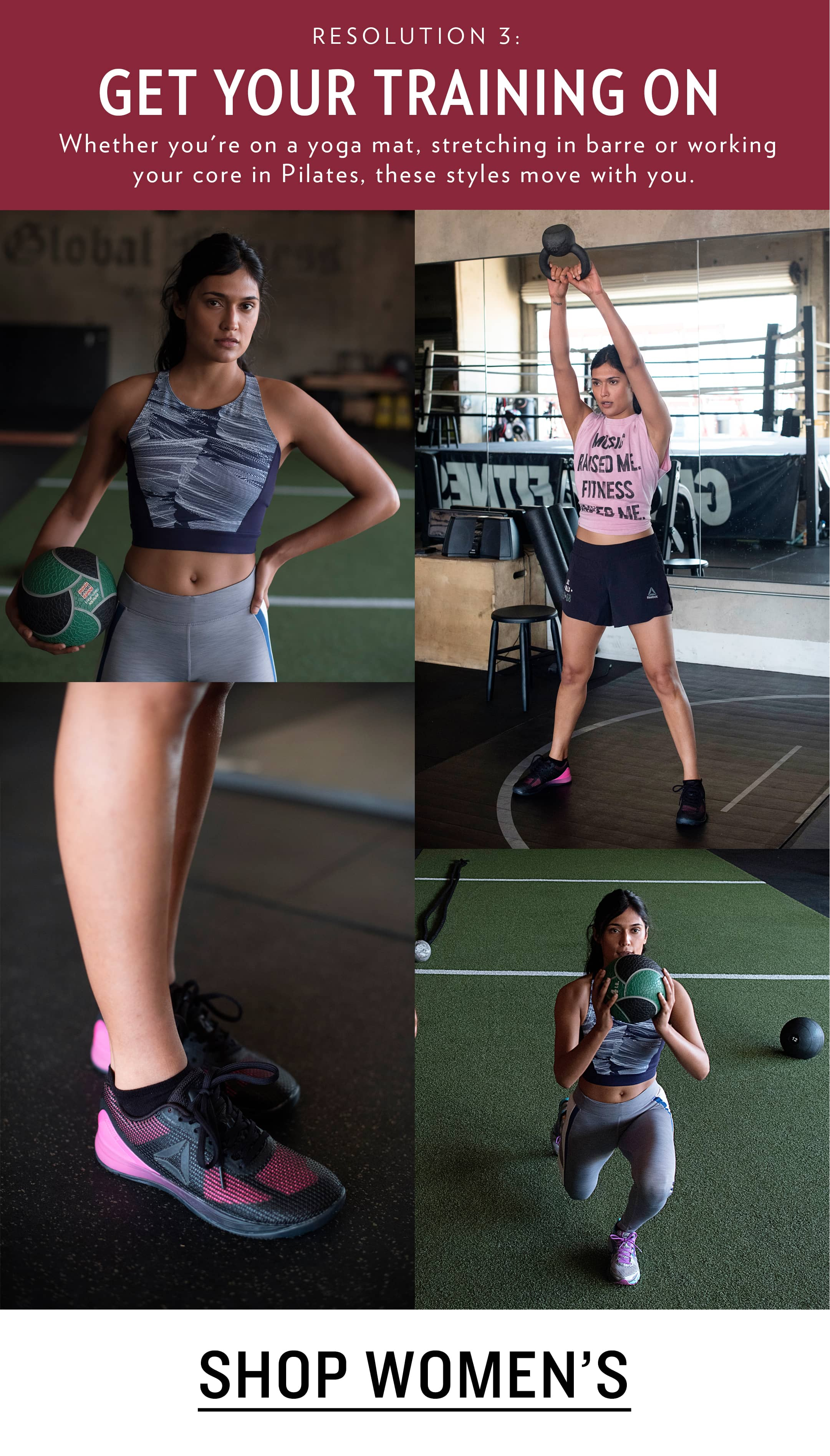 Women's Cross-Training Shoes and Clothing