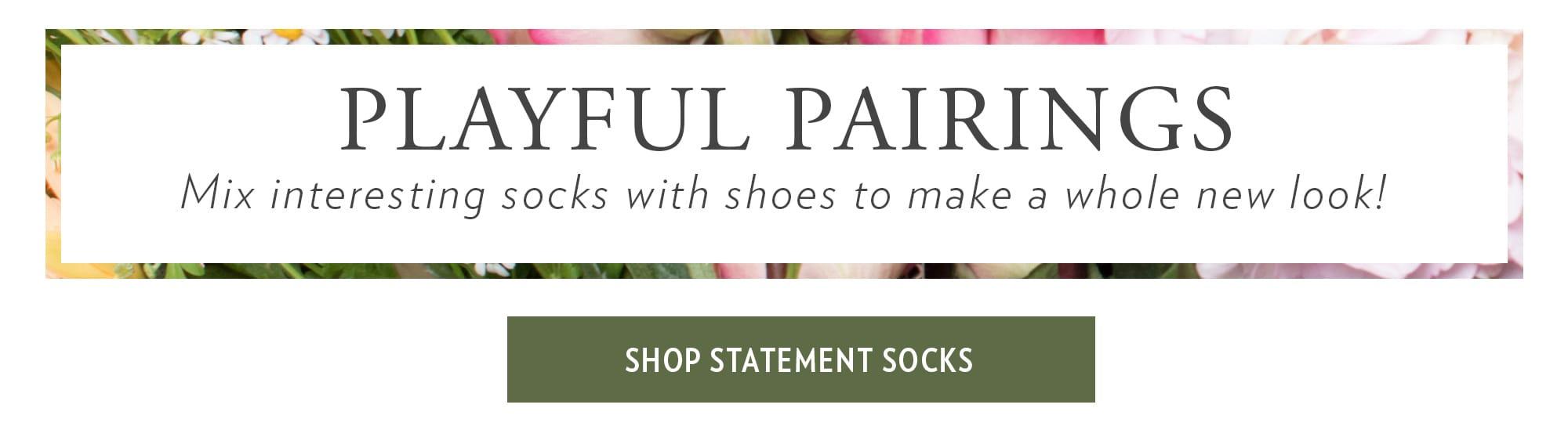 Shop Statement Socks