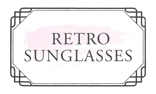 Shop Retro Sunglasses