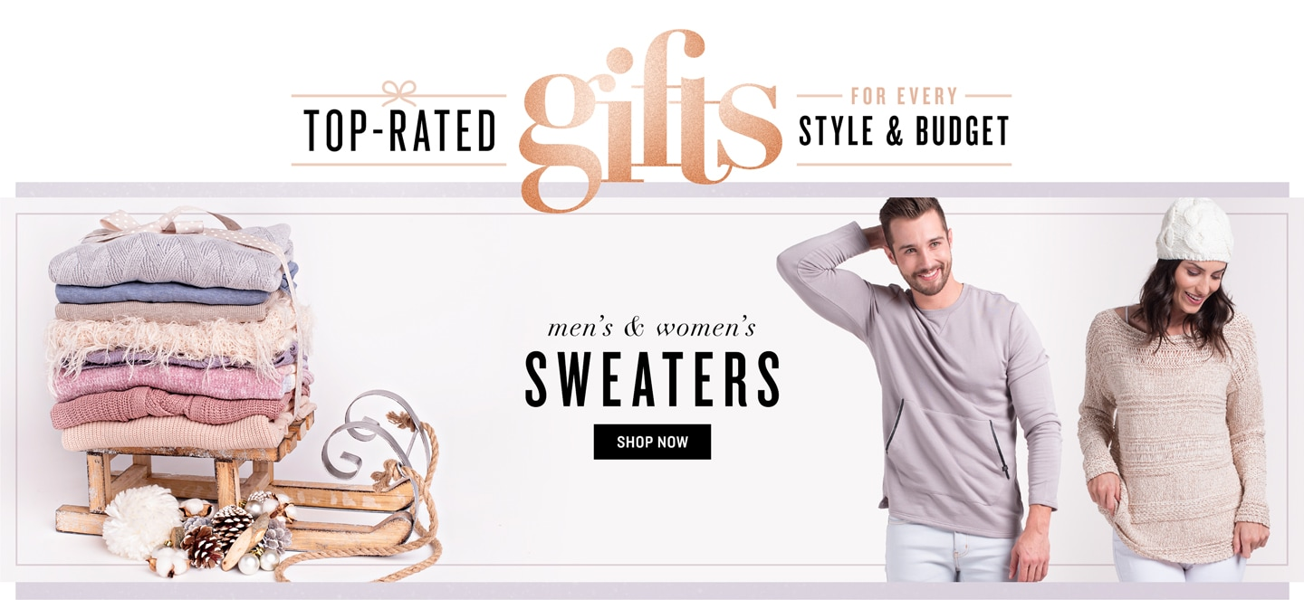 Top-Rated Gifts: Sweaters